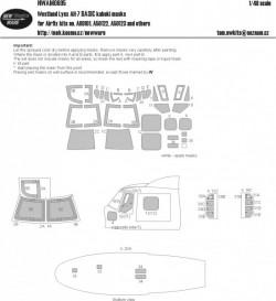 Westland Lynx AH-7 BASIC kabuki masks