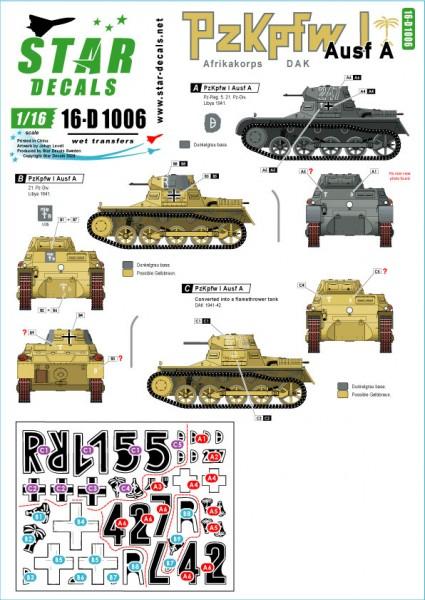 German PzKpfw I Ausf A