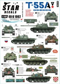 T-55A Tanks # 2. Balkan War