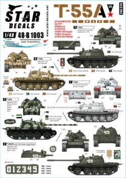 T-55A Tanks # 3. War