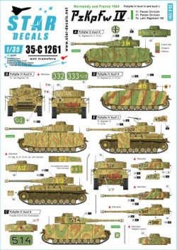 PzKpfw IV in Normandy and France # 1