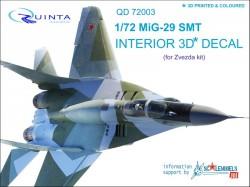 MiG-29 SMT Interior 3D Decal