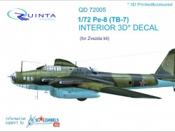 Pe-8/TB-7 Interior 3D Decal