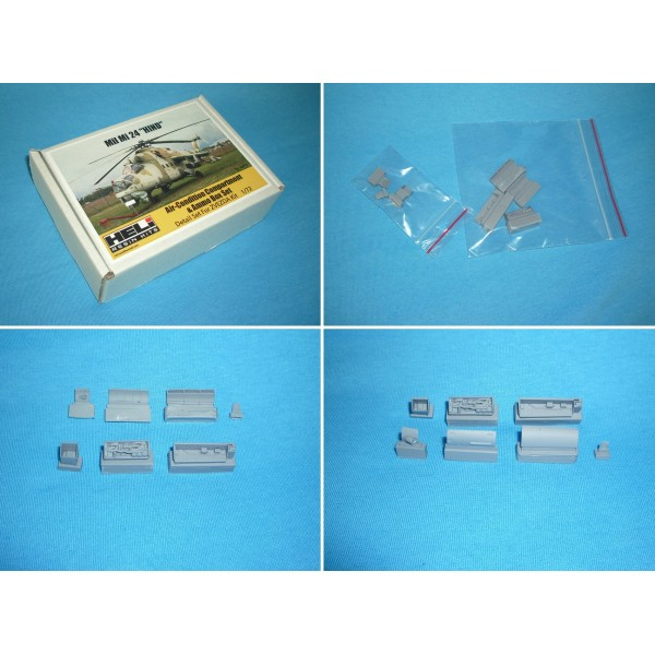 """Mil Mi-24 """"Hind"""" Air-Condition Compartment & Ammo Box Set"""