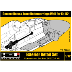Correct Nose & Front Undercarriage Well for Ka-52
