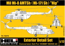 Mil Mi-171 Sh (AMTSh) Conversion Detail Set