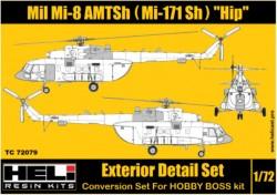 Mil Mi-171 Sh (AMTSh) Conversion Detail Set