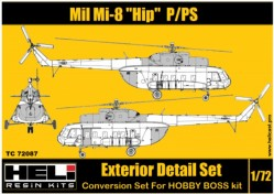 Mil Mi-8 P-PS Conversion Detail Set