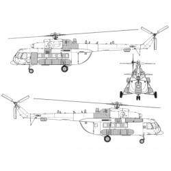Mil Mi-8 AMT-1 Conversion Detail Set