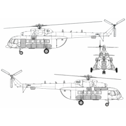 Mil Mi-171 Conversion Detail Set
