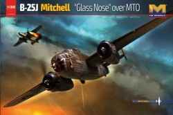 B-25J Mitchell Glass Nose over MTO