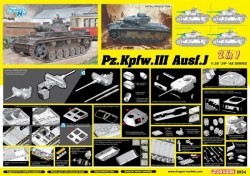 Pz.Kpfw.III Ausf.J Initial Production / Early Production (2 in 1)