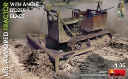 U.S. Armored Tractor w/Angle Dozer Blade