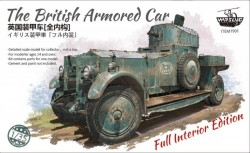 The British Armored Car with Full Interior