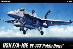 """USN F/A-18E VFA-143 """"PUKIN DOGS"""""""