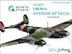 Petlyakov Pe-2 Interior 3D Decal