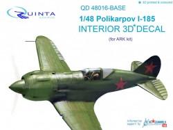 Polikarpov I-185 Interior 3D Decal base skill