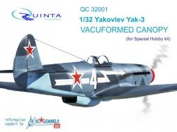Yak-3 open & close position