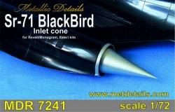 SR-71 Blackbird. Inlet cone