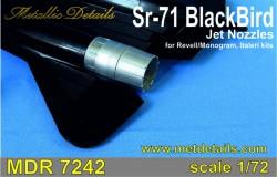 SR-71 Blackbird. Jet nozzles