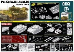 Pz.Kpfw.III Ausf.M Kursk 1943 (Neo Smart Kit)