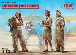 US WASP (1943-1945) (3 figures)