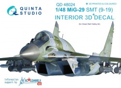 MiG-29 SMT (9-19) Interior 3D Decal