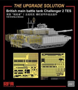 British MBT Challenger 2 TES upgrade solution