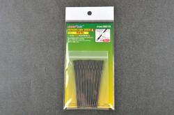 Disposable Mini Flat Brush, 10 pcs