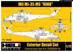 Mil Mi-35MS Conversion Detail Set