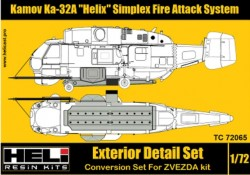 "Kamov Ka-32A ""Helix"" Simplex Fire Attack System Exterior Detail Set"