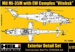 "Mil Mi-35M with EW Complex ""Vitebsk"""