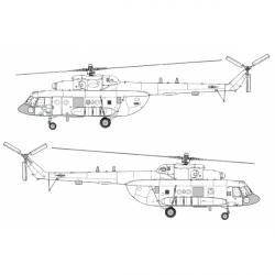 Mil Mi-8 MTPR-1 Conversion Detail Set