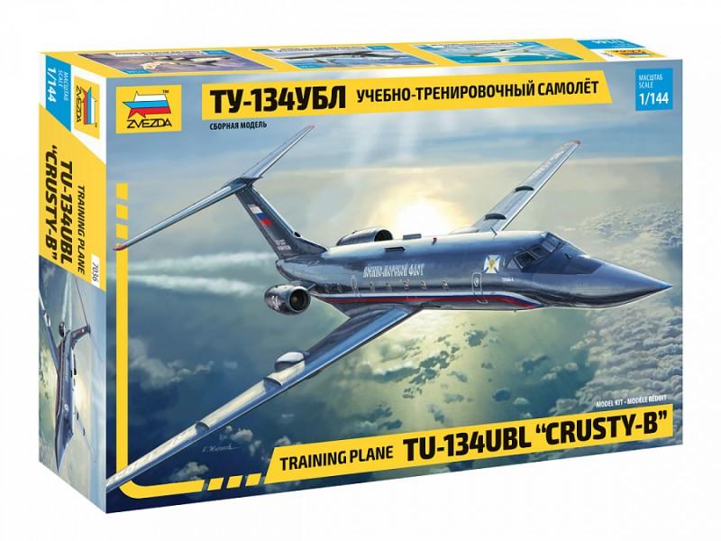 """Training plane TU-134UBL """"CRUSTY-B"""""""