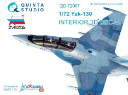 Yak-130 Interior 3D Decal