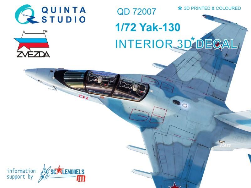 Yak-130 Interior 3D Decal