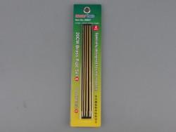 20 cm Brass Pipe set 6