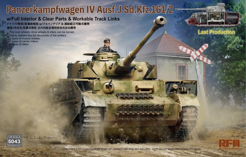 Panzer IV Ausf.J last production - full interior