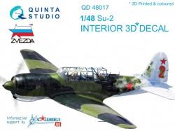 Suchoj Su-2 Interior 3D Decal