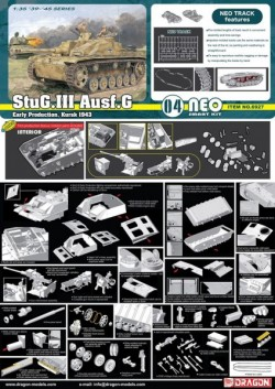 StuG.III Ausf.G Early Production, Kursk 1943 (Neo Smart Kit)