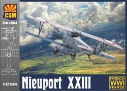 NIEUPORT XXIII WITH BELGIAN VERSIONS