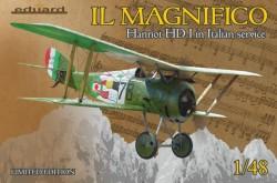 IL MAGNIFICO Hanriot HD.I in Italian service,Limited Edition