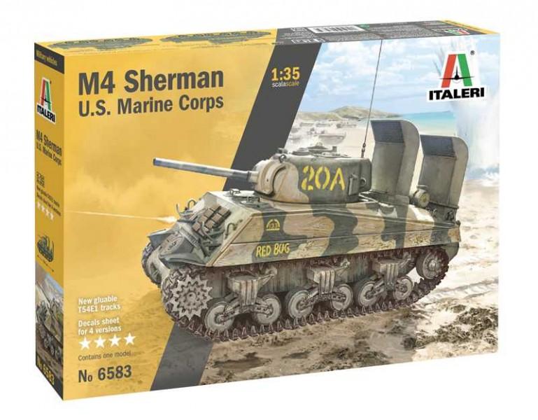 M4 SHERMAN U.S. MARINE CORPS