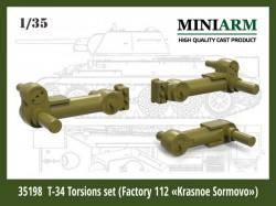 T-34 Torsions set (Factory N112 Krasnoe Sormovo)