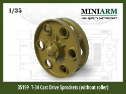T-34 Drive Sprockets (without rollers type)