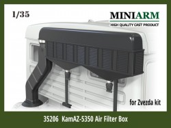 Air filter box for KamAZ-5350