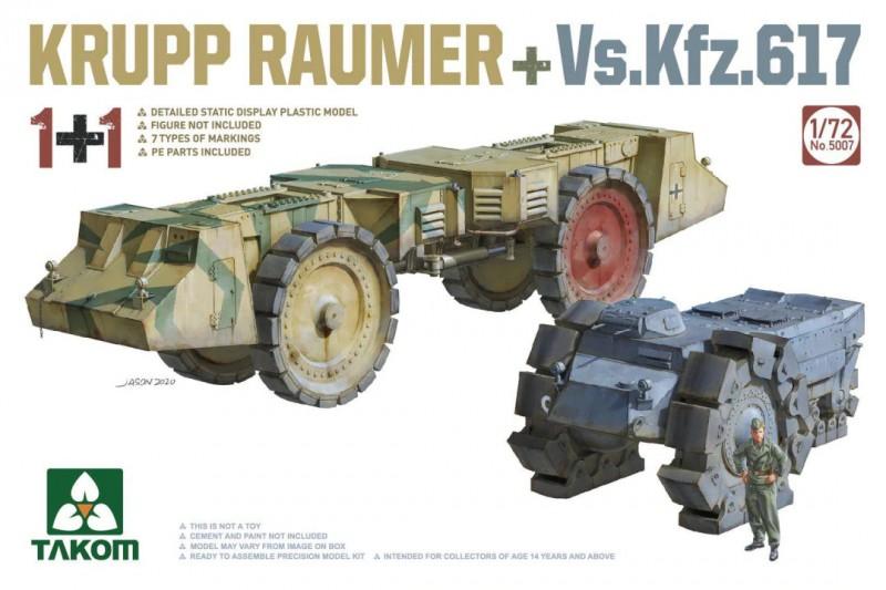 KRUPP RÄUMER+ Vs.Kfz.617 1+1