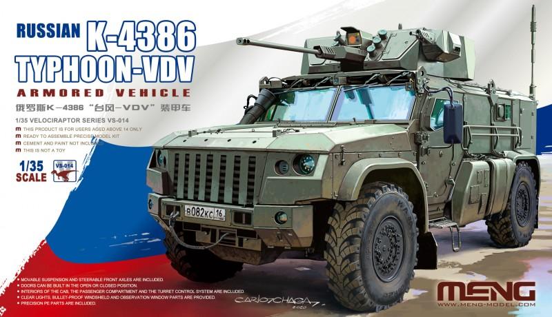 Russian K-4386 Typhoon-VDV Armored Vehicle