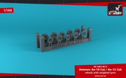 Antonov An-10/12 Cub wheels