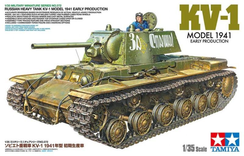 Russian Heavy Tank KV-1 Model 1941, Early Production
